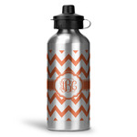 Chevron Water Bottle - Aluminum - 20 oz (Personalized)