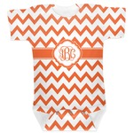 Chevron Baby Bodysuit (Personalized)