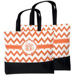 Chevron Beach Tote Bag (Personalized)