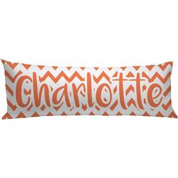 Chevron Body Pillow Case (Personalized)