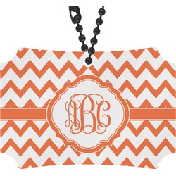 Chevron Rear View Mirror Ornament (Personalized)