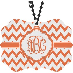 Chevron Rear View Mirror Decor (Personalized)