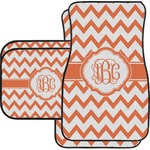 Chevron Car Floor Mats (Personalized)