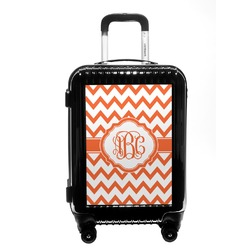 Chevron Carry On Hard Shell Suitcase (Personalized)