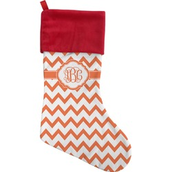 Chevron Christmas Stocking (Personalized)
