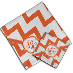 Chevron Cloth Napkin w/ Monogram