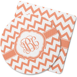 Chevron Rubber Backed Coaster (Personalized)