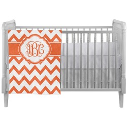 Chevron Crib Comforter / Quilt (Personalized)