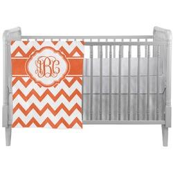 Chevron Crib Comforter / Quilt (Personalized)