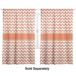 "Chevron Curtains - 20""x84"" Panels - Lined (2 Panels Per Set) (Personalized)"