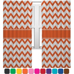 Chevron Curtains (2 Panels Per Set) (Personalized)