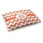 Chevron Dog Bed (Personalized)
