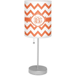"""Chevron 7"""" Drum Lamp with Shade Polyester (Personalized)"""