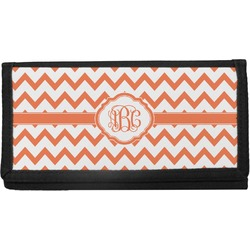 Chevron Canvas Checkbook Cover (Personalized)