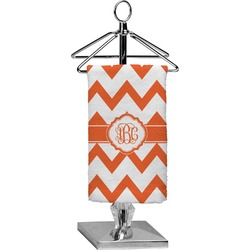 Chevron Finger Tip Towel - Full Print (Personalized)