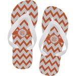 Chevron Flip Flops (Personalized)