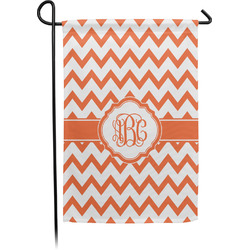 Chevron Garden Flag - Single or Double Sided (Personalized)