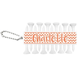 Chevron Golf Tees & Ball Markers Set (Personalized)