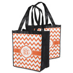 Chevron Grocery Bag (Personalized)
