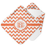 Chevron Hooded Baby Towel (Personalized)