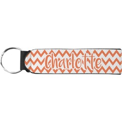 Chevron Neoprene Keychain Fob (Personalized)