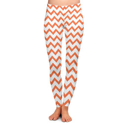 Chevron Ladies Leggings - Large (Personalized)