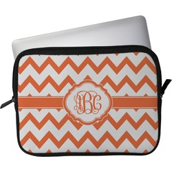 "Chevron Laptop Sleeve / Case - 15"" (Personalized)"