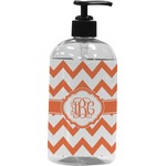 Chevron Plastic Soap / Lotion Dispenser (Personalized)