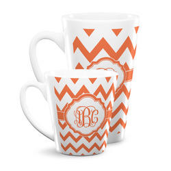 Chevron Latte Mug (Personalized)
