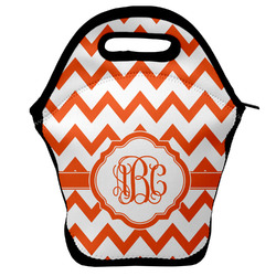 Chevron Lunch Bag w/ Monogram