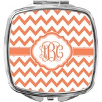 Chevron Compact Makeup Mirror (Personalized)