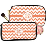 Chevron Makeup / Cosmetic Bag (Personalized)