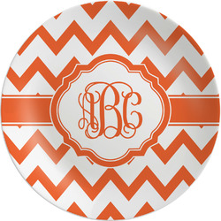 Chevron Melamine Plate (Personalized)