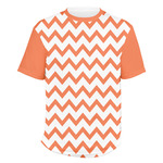 Chevron Men's Crew T-Shirt (Personalized)