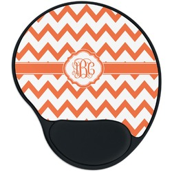 Chevron Mouse Pad with Wrist Support
