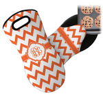 Chevron Neoprene Oven Mitt (Personalized)