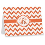 Chevron Note cards (Personalized)