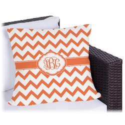 """Chevron Outdoor Pillow - 20"""" (Personalized)"""