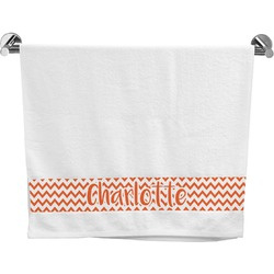 Chevron Bath Towel (Personalized)