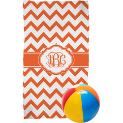 Chevron Beach Towel (Personalized)