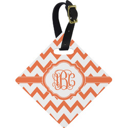 Chevron Diamond Luggage Tag (Personalized)