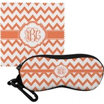Chevron Eyeglass Case & Cloth (Personalized)