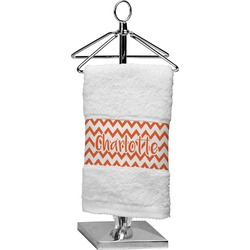 Chevron Cotton Finger Tip Towel (Personalized)