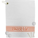 Chevron Golf Towel (Personalized)