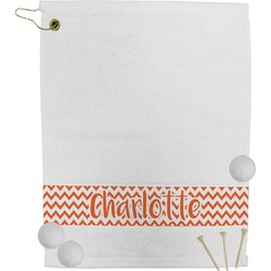 Chevron Golf Towel (Personalized)