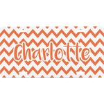 Chevron Front License Plate (Personalized)