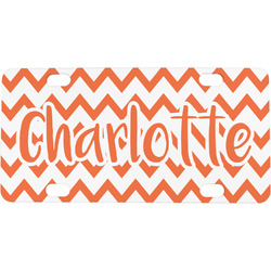 Chevron Mini / Bicycle License Plate (Personalized)