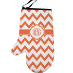 Chevron Left Oven Mitt (Personalized)