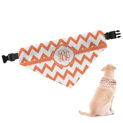Chevron Dog Bandana - Large (Personalized)