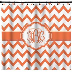 "Chevron Shower Curtain - 71""x74"" (Personalized)"